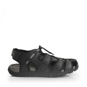 71965 Geox Flat Closed-Toe Strappy Sandal