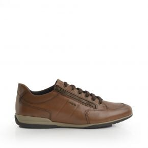 71970 Geox Flat Lace-Up/Zip-Up Sneaker
